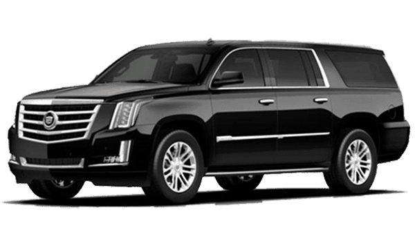 Black Cadillac Escalade ESV