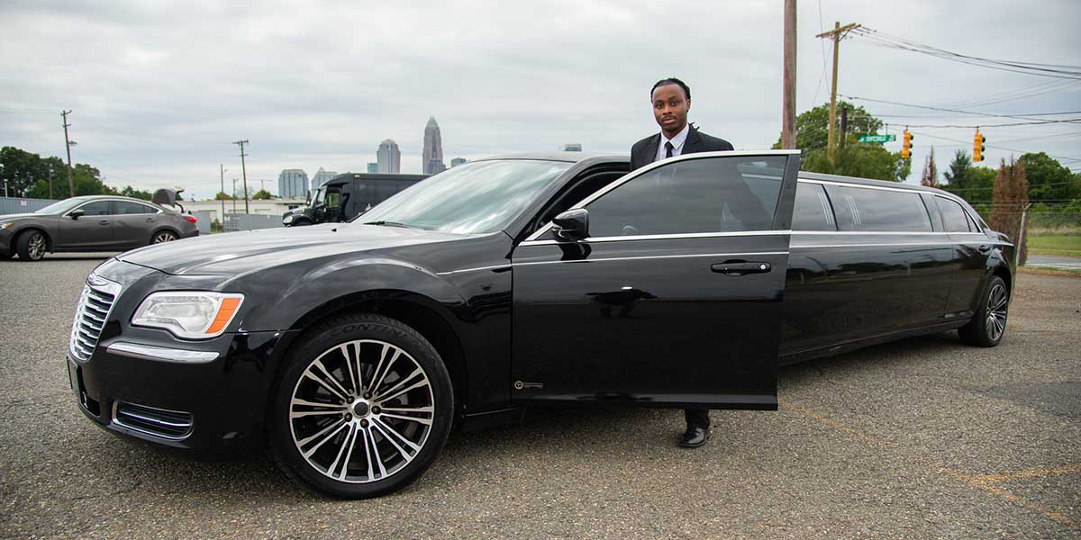 limousine rental for weddings in charlotte nc