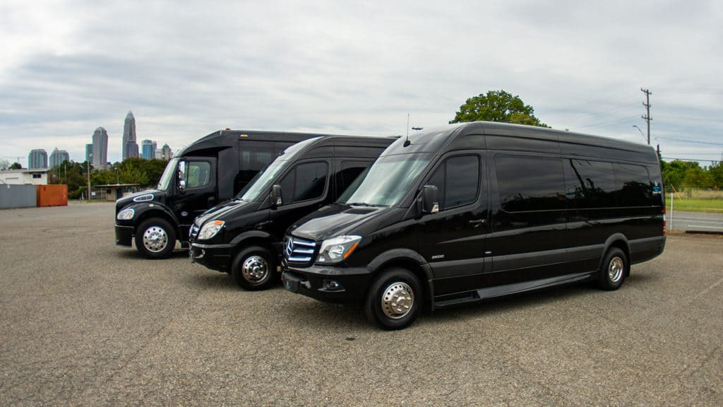 group transportation and limousine rental service charlotte nc